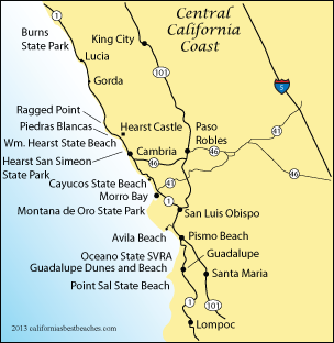Pismo Beach Directions mobile