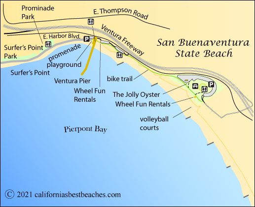 sanbuenaventurabeachmappng