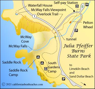 Julia Pfeiffer Burns State Park Camping