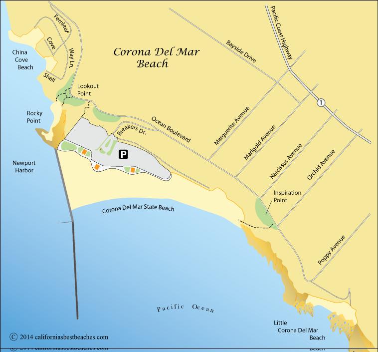 Corona Del Mar Beach - California's Best Beaches on