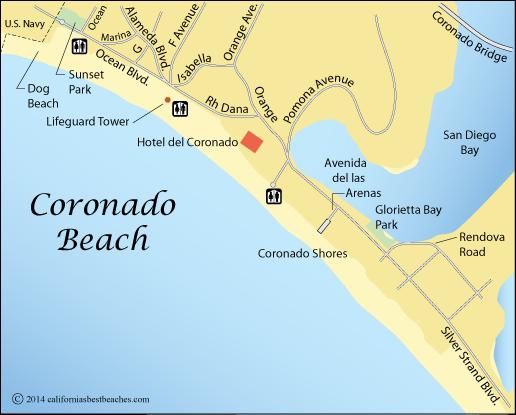 Coronado Beach - California\'s Best Beaches