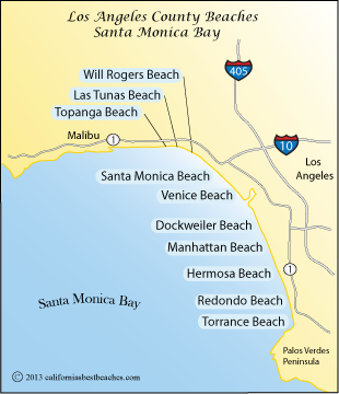Los Angeles County Beaches Mobile