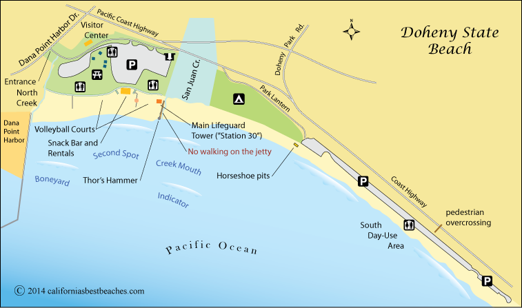 Doheny Beach - California's Best Beaches on