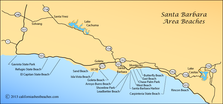 Carpinteria State Beach Directions
