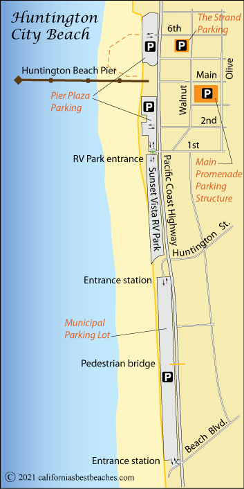 Huntington Beach Californias Best Beaches