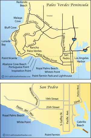 Cabrillo Directions - mobile on