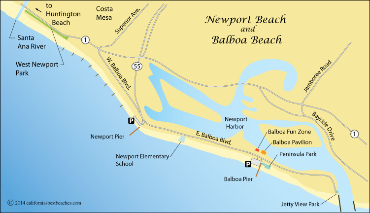 Newport Beach   California's Best Beaches