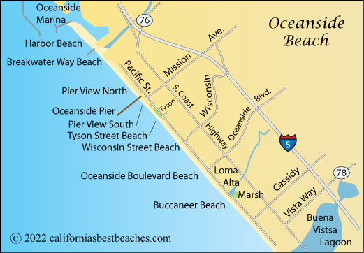 Oceanside Beach Californias Best Beaches