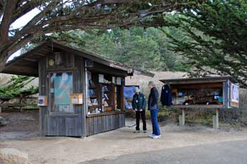 Sea Lion Point Information Station, Point Lobos State Natural Reserve, Monterey, CA
