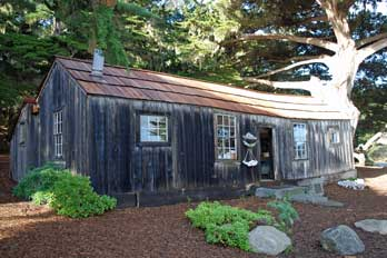 Whalers Cabin Museum, Point Lobos State Natural Reserve, Monterey, CA