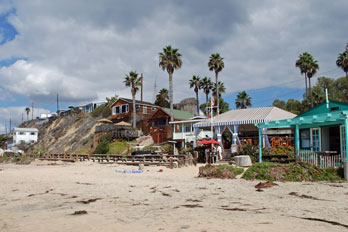 Crystal Cove Beach cottages, Orange County, CA
