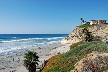 Fletcher Cove Beach, San Diego County, California
