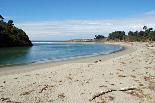 Mendocino Headlands And Big River Beach Californias Best Beaches - Big river
