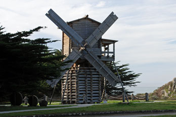 Fort Ross windmill, Fort Ross State Historic park, CA