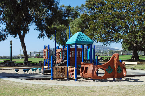 Point Fermin Park playground, Los Angeles County, CA