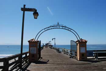 Capitola Wharf at Capitola Beach, CA