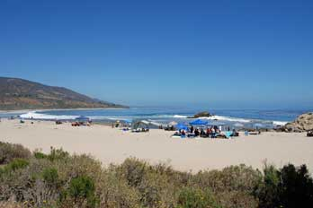 South Beach at Leo Carrillo State Park, Los Angeles County, CA