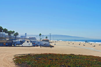 Dockweiler Beach RV Park Los Angeles CA