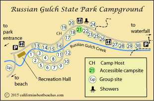 Russian Gulch Sp State Park