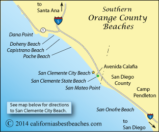 San Clemente Beach Directions - mobile on goleta state beach map, huntington beach state beach map, trinidad state beach map, corona del mar state beach map, carpinteria state beach map, san clemente beach campground map, dockweiler state beach map, city of san clemente ca map, san elijo state beach map, san clemente trail map, san clemente camp map, state of california beaches map, san clemente coast map, redwood national and state parks map, montana de oro state park map, oceano state beach camping map, gaviota state beach map, seacliff state beach map, hotels san clemente map, prairie creek redwoods state park map,