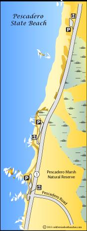 Is Pescadero State Beach Private