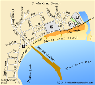 Santa Cruz Beach   California's Best Beaches   mobile