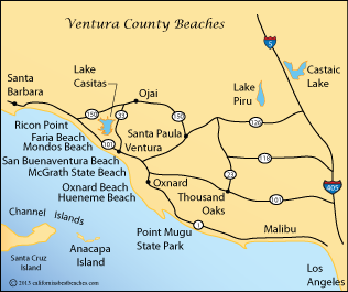 Point Mugu California Map.Point Mugu State Park Directions Mobile