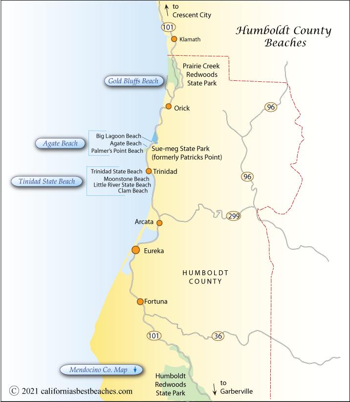 Humboldt County Beaches