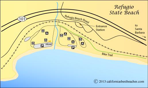 El Capitan Beach And Refugio State