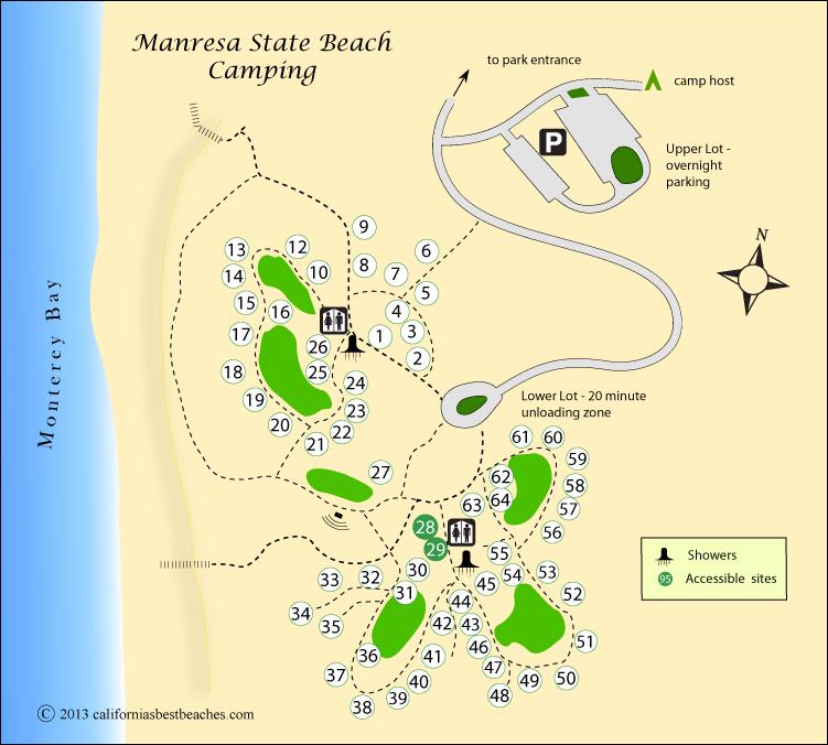 Manresa Beach Camping