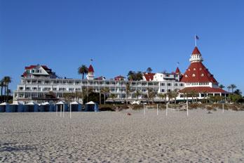 Hotel Del Coronado Beach San Go County California