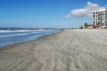 Coronado Beach San Go California