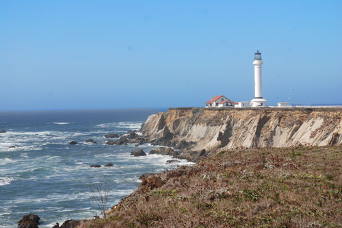 Point Arena Lighthouse Mendocino County Ca