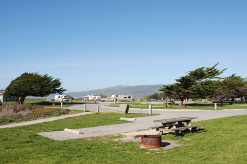 Camping Near Half Moon Bay Beaches