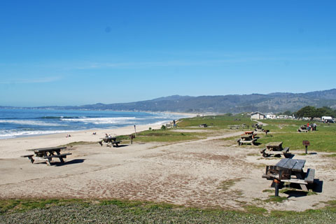 Francis Beach Picnic Area Half Moon Bay Ca