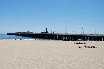 Santa Cruz Wharf Seafood Restaurants