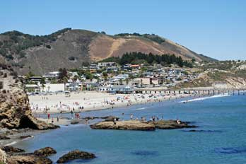 Avila Beach And Pier San Luis Obispo County Ca