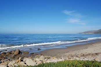 El Capitan Beach Santa Barbara County Ca