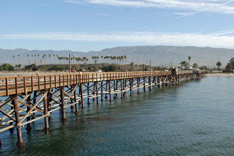 Goleta Pier Santa Barbara County Ca