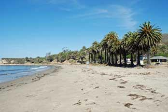 Refugio Beach Santa Barbara County Ca