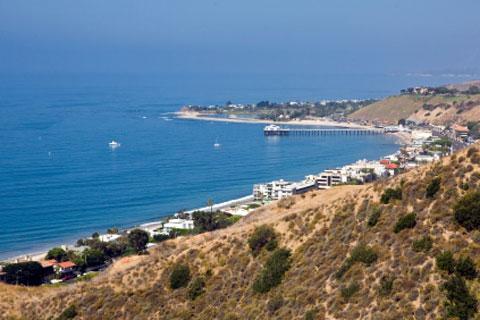 Malibu Lagoon Beach And Surfrider Ca