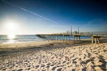 Hermosa Beach And Pier Los Angeles County Ca