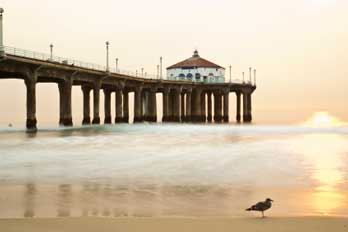 Manhattan Beach Pier Ca