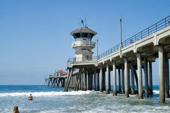 Huntington Beach Pier Orange County Ca