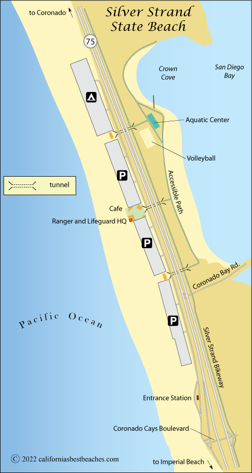 Silver Strand State Beach - California\'s Best Beaches
